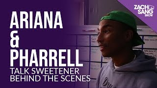 For More Interviews, Subscribe ▻▻ http://bit.ly/29PqCNm Before the Sweetener Slumber Party, Ariana Grande & Pharrell Williams got to talking about the ...