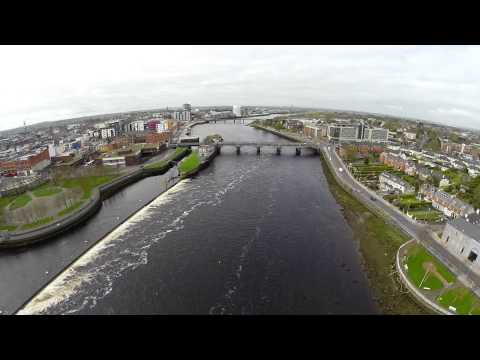 King Johns Castle and the River Shannon by Tony Grehan Photography and Video.