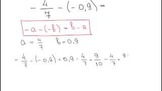 Вычитание отрицательных чисел B2 2