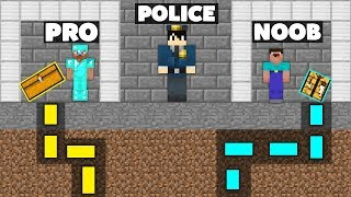 Minecraft Battle: NOOB vs PRO : SECRET MAZE PRISON ESCAPE Challenge in Minecraft Animation