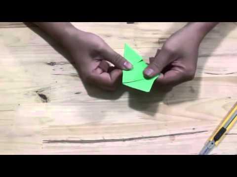 Làm Như Thế Nào : hướng dẫn cắt hoa giấy 5 cánh
