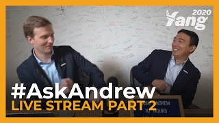 #AskAndrew - Live Stream Part 2