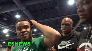 Errol Spence Jr Has Known Vergil Ortiz For Years - Response To Vergil Calling Him Out
