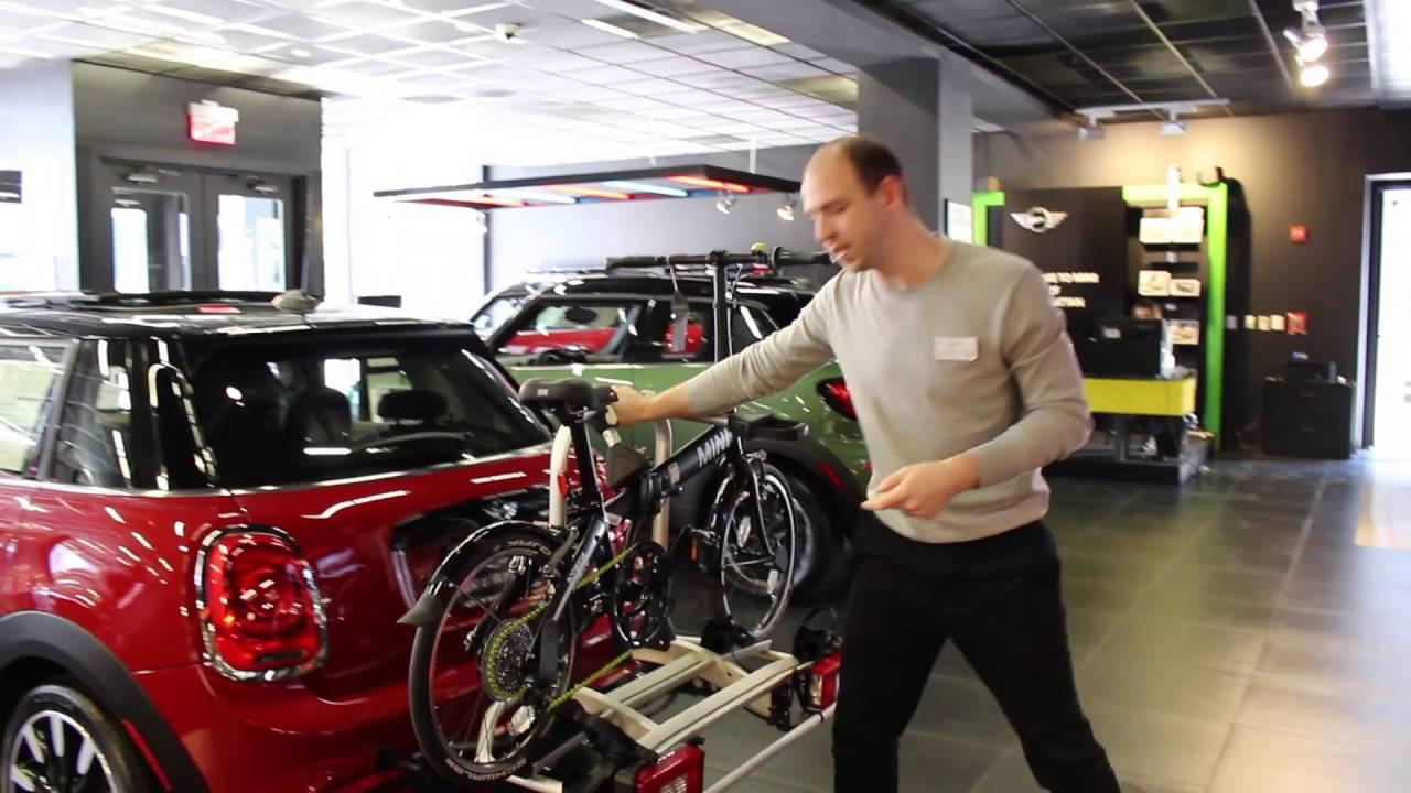 Mini Cooper Bike Rack System