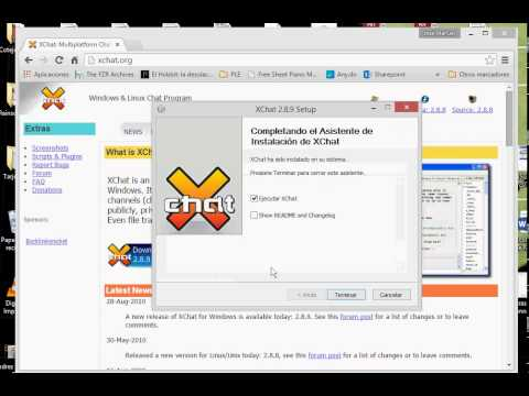 Tutorial De Xchat (IRC)
