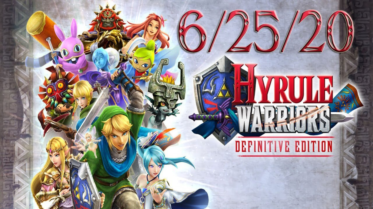 Hyrule Warriors Definitive Edition Twitch Vod June 25th 2020 Youtube