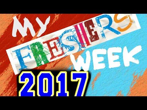 My Freshers Week 2017! (vlog)