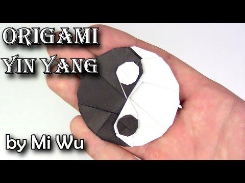 Origami Yin Yang by Mi Wu