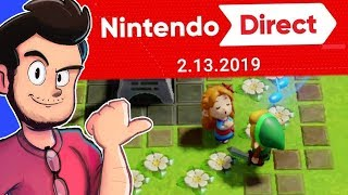 Reacting To 2.13.19 Nintendo Direct! - AntDude