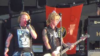 guns nroses  welcome to the jungle live at download festival 2018