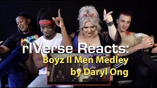 rIVerse Reacts: Boyz II Men Medley by Daryl Ong - Performance Reaction