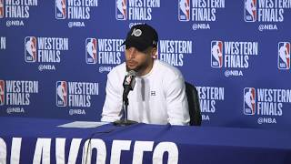 Steph says brother Seth tried to distract him at the free throw line during game