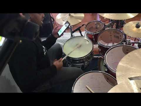 Larry Lee drum toms tune up