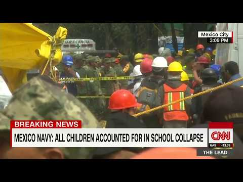 Thumbnail: Mexico earthquake: All kids accounted for in collapsed school