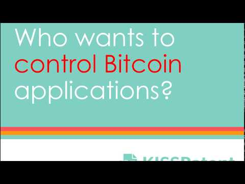 Who wants to control bitcoin patent applications?