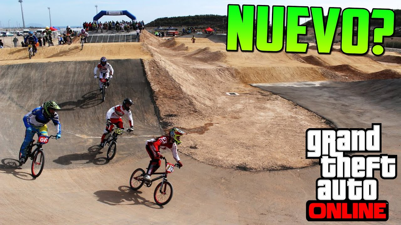 Nuevo Circuito Para Motocross O Bmx Gameplay Gta V Online Ps4