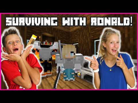 PLAYING MINECRAFT HARDCORD WITH RONALD!