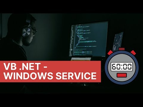 How To Create Windows Service In VB Net?