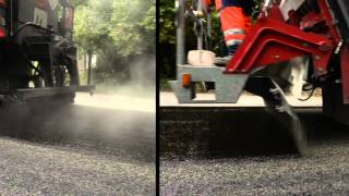 Gravaubel - Liants - Répandage -  grenaillage