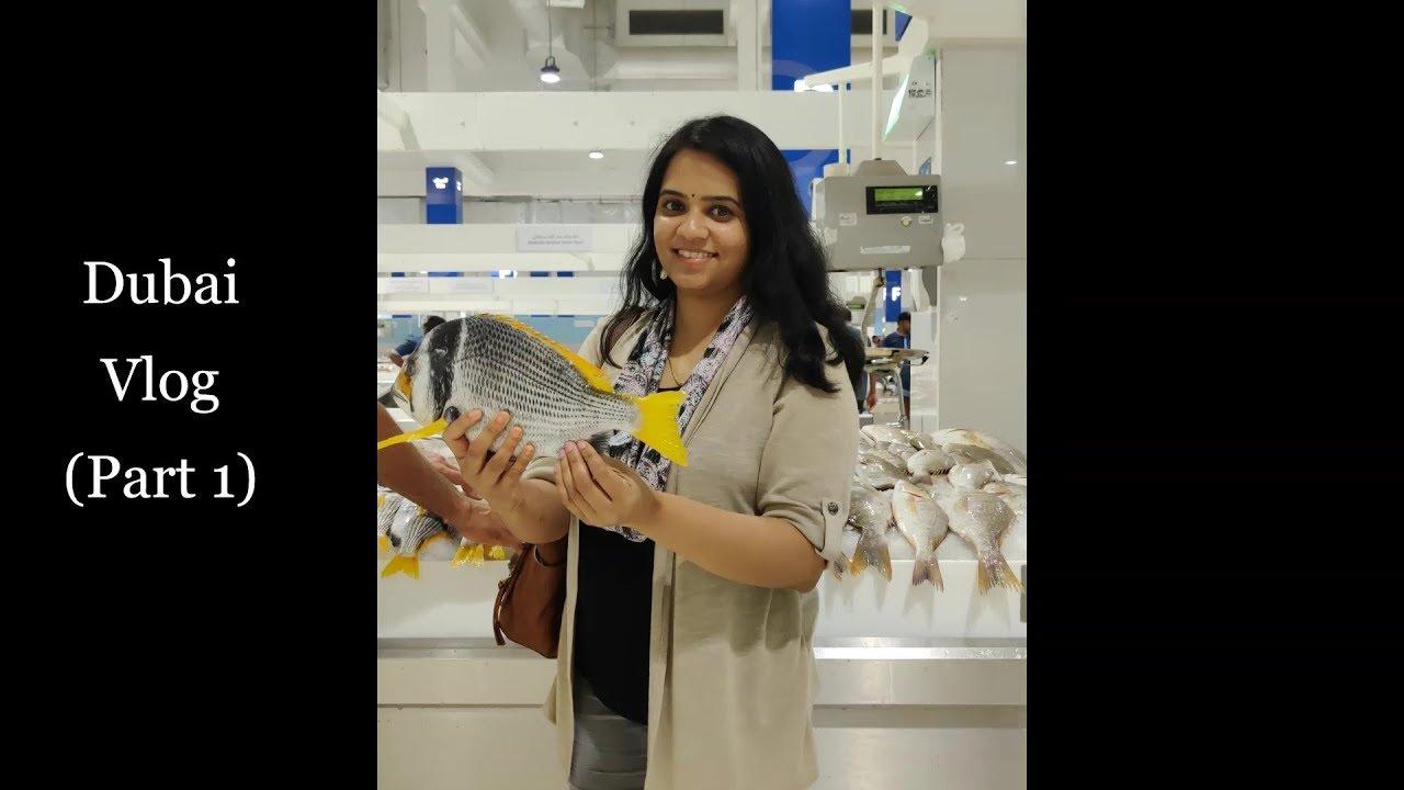 Dubai Vlog (Part 1) - Dubai Creek, Dubai Fish Market, City Tour, Dubai  Mall, Burj Khalifa