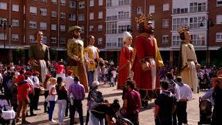 Gigantes de Villava • Atarrabiako erraldoiak. Navarra. Nafarroa.