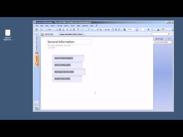 Intro To OneNote For Genealogists - YouTube