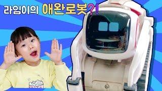 라임이의 애완 로봇 코즈모 꼬마로봇 챌린지 게임 인공지능 장난감 놀이 THE WORLD'S CUTEST ROBOT!!! COZMO 라임튜브