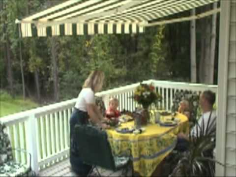 Retractable Awning | Sunair | Gives Shade When You Want It !   YouTube