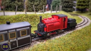 Kato / Peco - Small England Locomotive - 009 Scale - Warley National M
