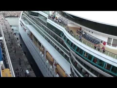 Quantum of the Seas: Inaugural St. Kitts Arrival & Departure (Jewel otS, Celeb. Summit & Insignia)