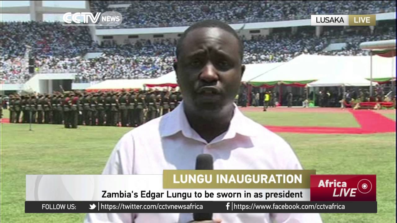 Zambia's Edgar Lungu to be sworn in as president