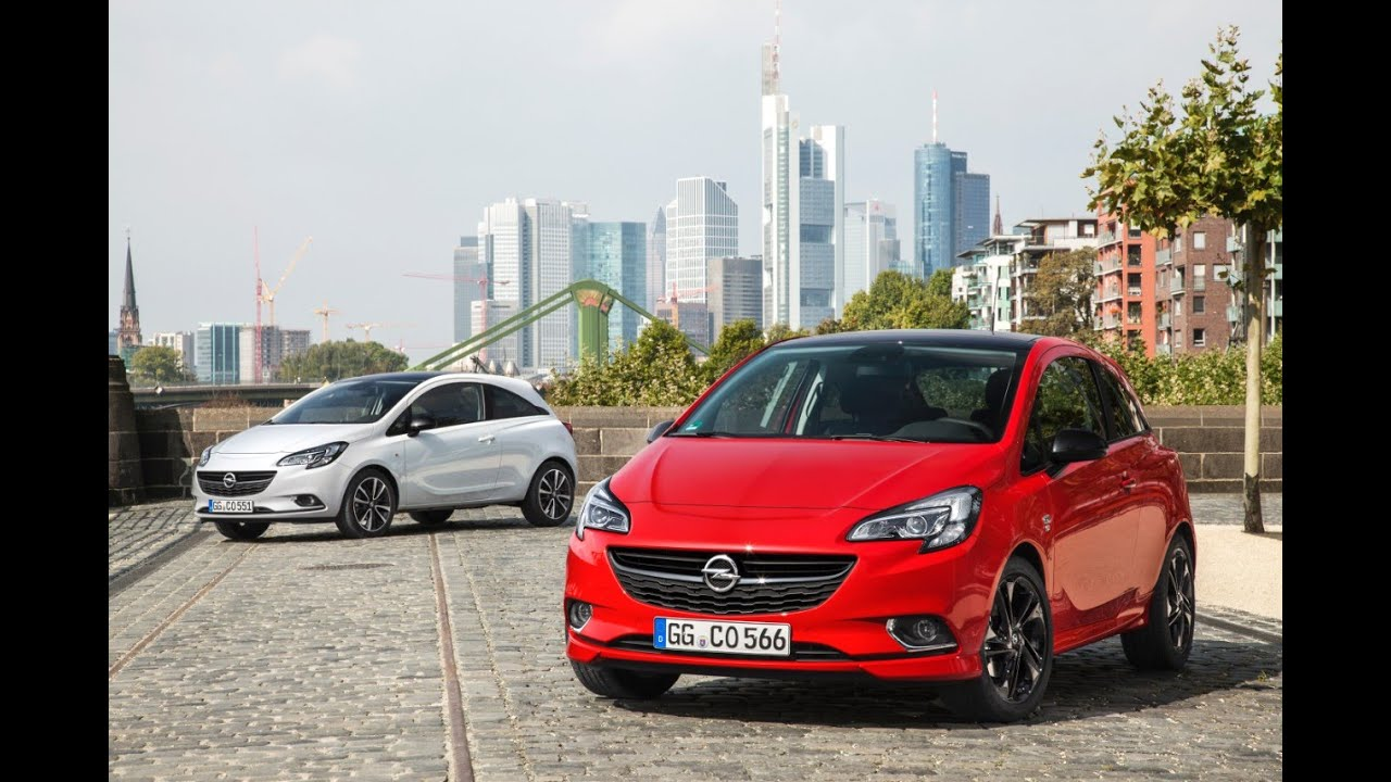 New Opel Corsa E OPC Line Pack - Driving Scenes (Full HD) - YouTube