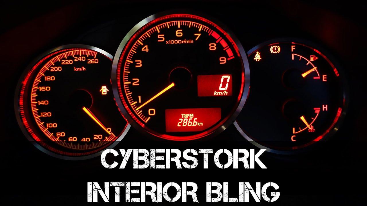 Cyberstork Interior Subaru BRZ Toyota 86 Scion FRS Mods