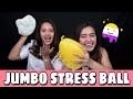 DIY FOAM SLIME & JUMBO STRESS BALL W/ OLA TOBING   Indira Kalistha