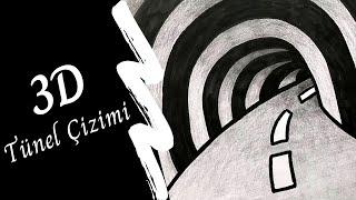 3 Boyutlu (3D) Tünel Çizimi - Görsel Sanatlar