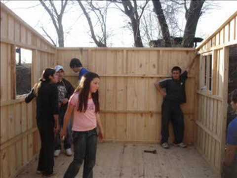 Construcci n r o cuarto utpmp youtube - Como hacer casa de madera ...
