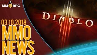 DIABLO 4 lub DIABLO MMO pewne? oraz - MMONews 04.10.2018