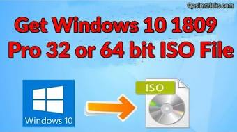 Windows 10 version 1809 iso download