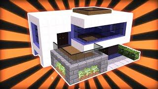 Rumah Modern Minecraft