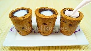 DIY - Стаканчик из печенья с молоком