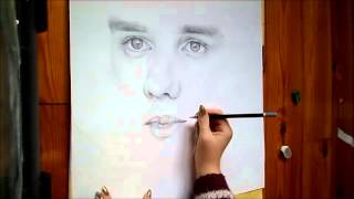 Drawing Liam Payne from One Direction