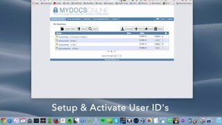MDO Setup & Activate Account User IDs