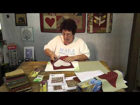How To Freezer Paper Applique With Jan Patek