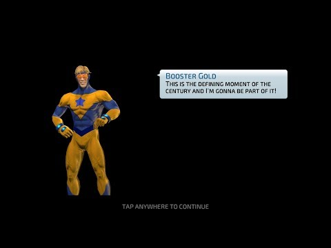 Booster Gold First Impression! Lvl 70 G11 Wraith Arena (3 Bouts)