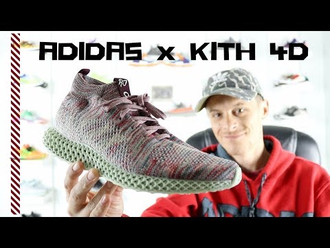 check out b8724 5041b ADIDAS x KITH CONSORTIUM 4D (Unboxing & On Foot Review ...