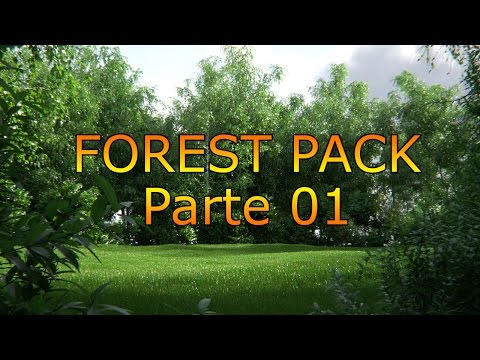 Tutorial Forest Pack En Español - 01 Parametros Basicos