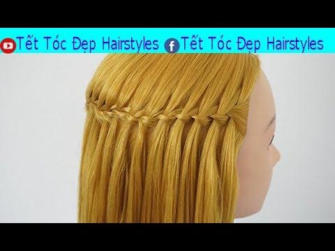 Tết Tóc Đẹp Hairstyles -  Dạy Cách Tết Tóc Đơn Giản Mà Đẹp Phần  1  HAIR TUTORIAL