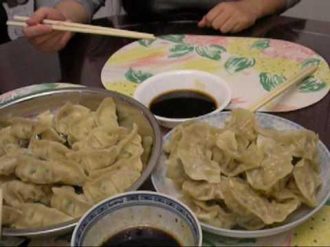 做饺子的说明 - How to make Chinese dumplings