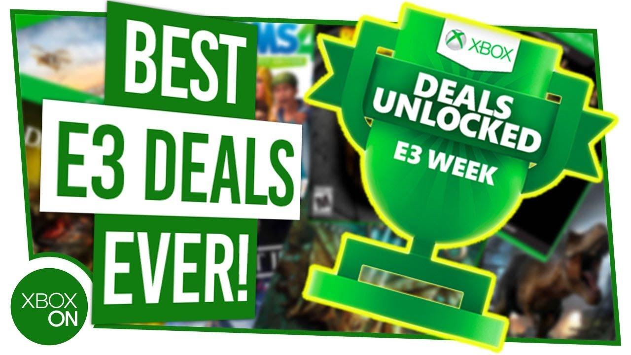 AMAZING XBOX E3 2019 DEALS   Xbox Consoles, Controllers, Games & MORE