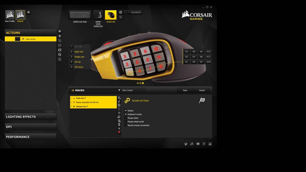 Corsair Scimitar Setup 2016 Youtube Razer Naga Hex Mmo 2014 Hexagram V2 Free Mouse Pad